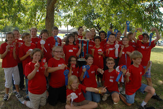 St. Bede Science Olympiad Team Wins 1st Place at University of West Alabama 1