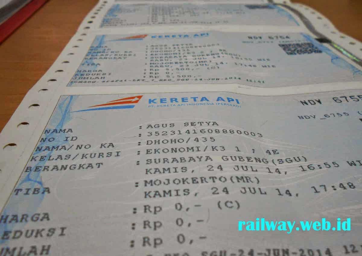 Tiket Kereta Api Liburan Akhir Tahun Sudah Bisa Di pesan