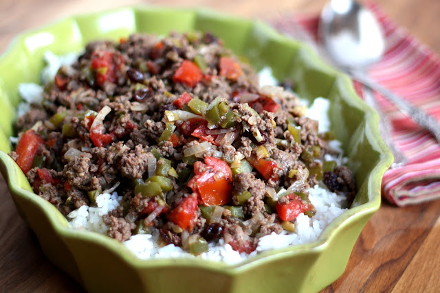 Picadillo – Cuban-style Hash recipe by Barefeet In The Kitchen