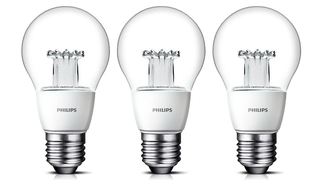 Philips cria l mpada led de aspecto incandescente for Lampada led