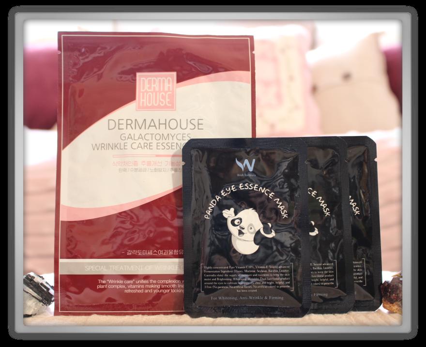 겟잇뷰티박스 by 미미박스 memebox beautybox Superbox #35 Fermented Cosmetics 2 unboxing review box cotterang panda eye mask dermahouse wrinkle care