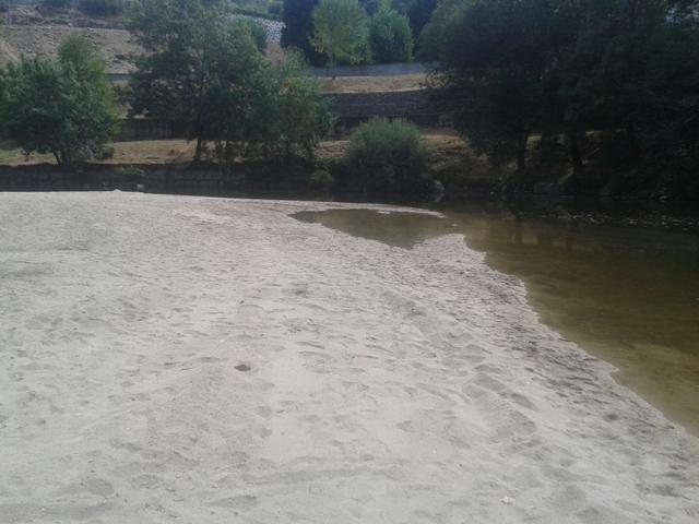 Zona Fluvial Da Praia de Caldas de Sangemil