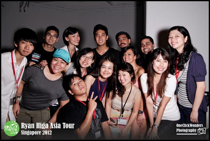Ayrines simplethoughts ryan higa in singapore credit photo from soulmanna live facebook page m4hsunfo