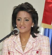 PRIMERA DAMA DE LA REPÚBLICA DOMINICANA DEL GOBIERNO DEL PARTIDO DELA LIBERACION DOMINICANA