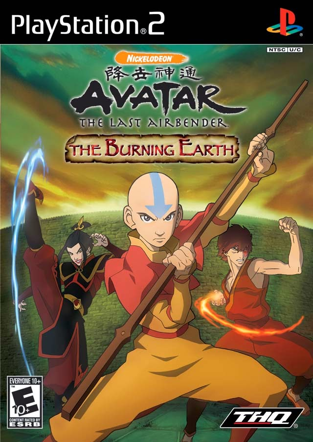 Cheat Avatar The Last Airbender The Burning Earth PS2