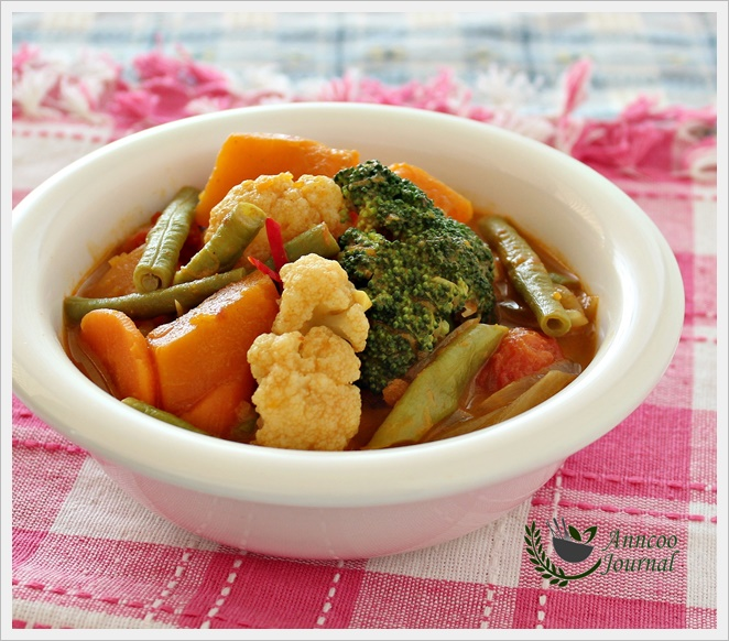 Simple Vegetable Curry - Anncoo Journal