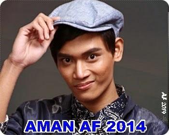 Biodata Aman AF 2014