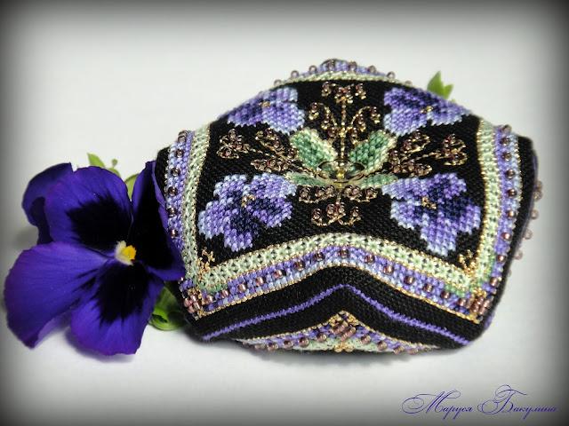 chatelaine, вышивка крестом, вышивка, swarovski, рукоделие