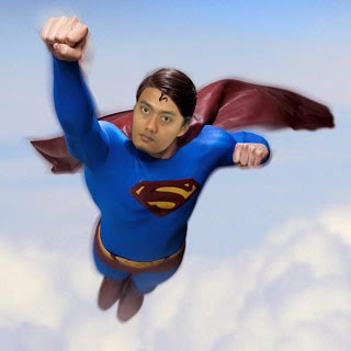 MENGEDIT FOTO SUPERMAN DENGAN PHOTOSHOP