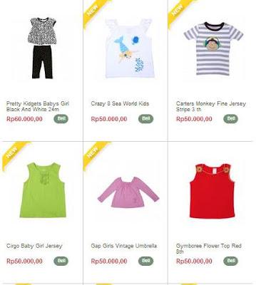 Toko Online Baju Anak Branded Murah dan Aman
