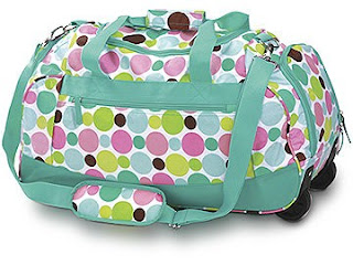 Roller Duffle Carry-On by trndesigns on Etsy