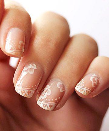 nail art ideas for brides
