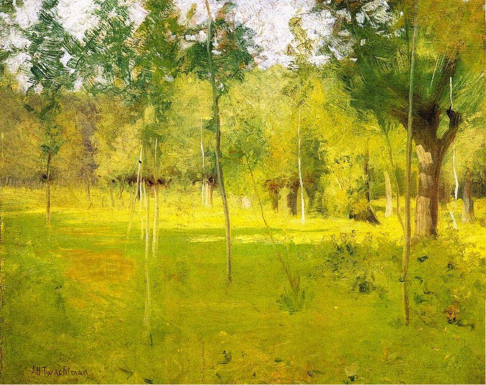 Arte American Impressionism John Henry Twachtman 11