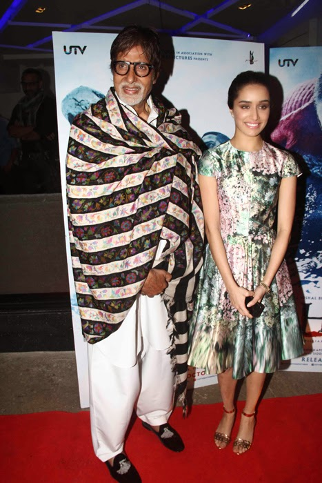 Amitabh Bachchan at Haider Movie Special Screening Photos