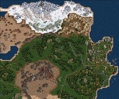 Heroes of Might and Magic 3 World Map
