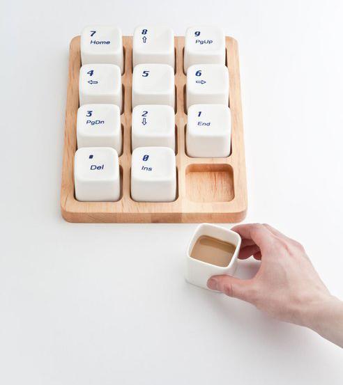keyboard, coffee, cups, creative, awesome