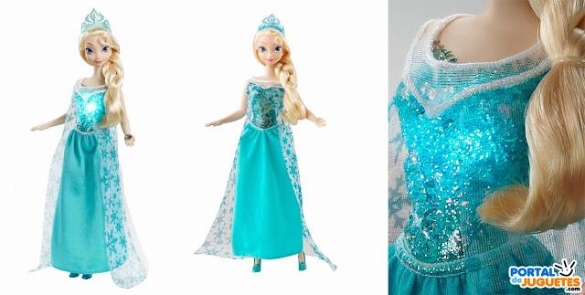 muñeca elsa musical frozen mattel
