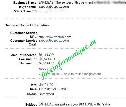 payment proofs zapbux