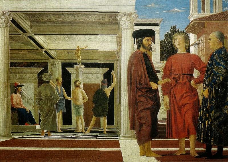 flagellazione di Cristo - Piero della Francesca