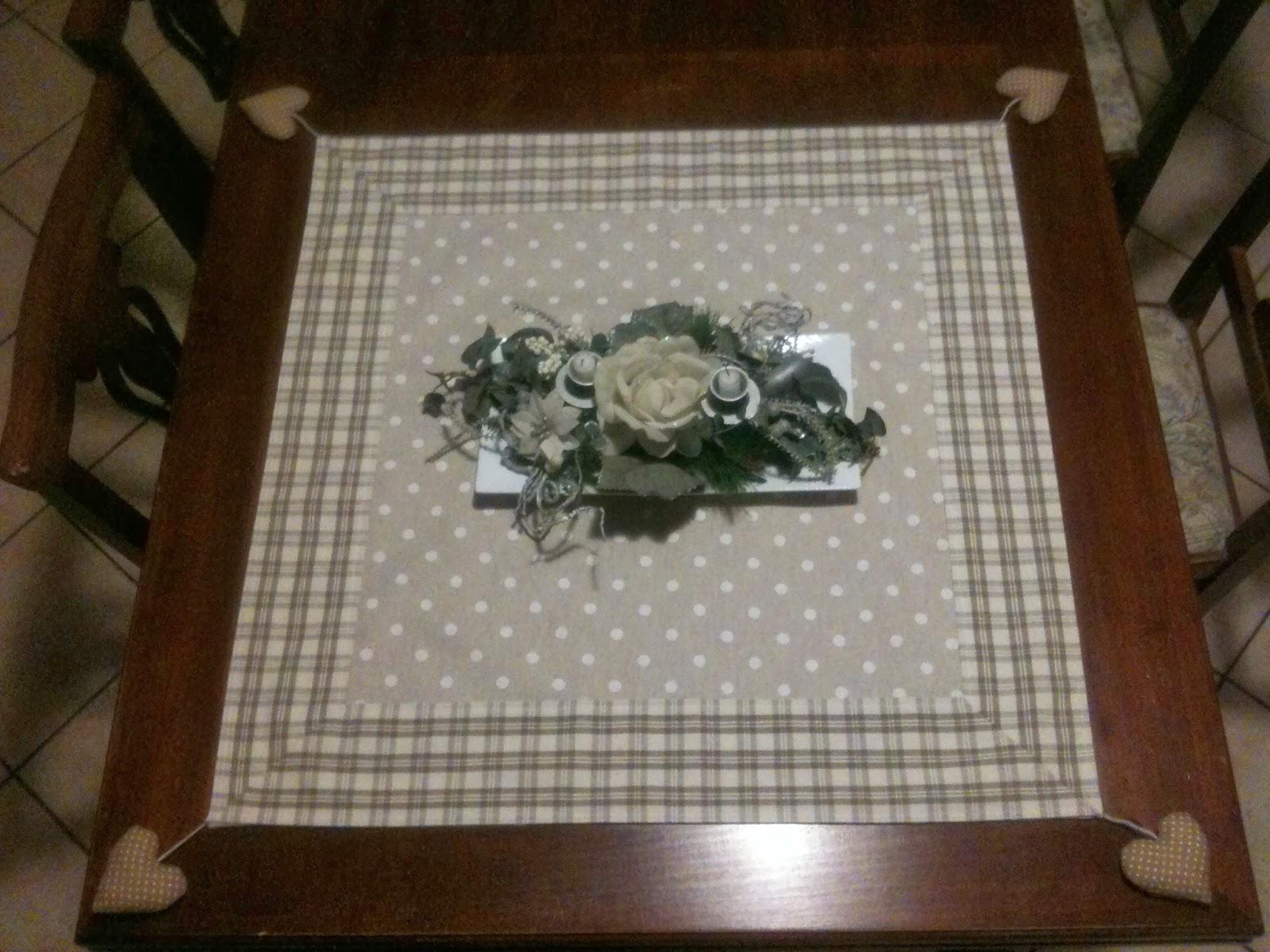 Pure heart di francesca pugliese tovaglie e copri tavolo - Tovaglie da cucina ...