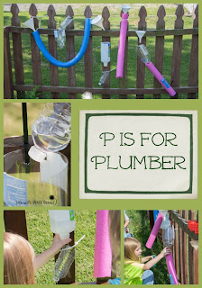P is for Plumber Community Helper