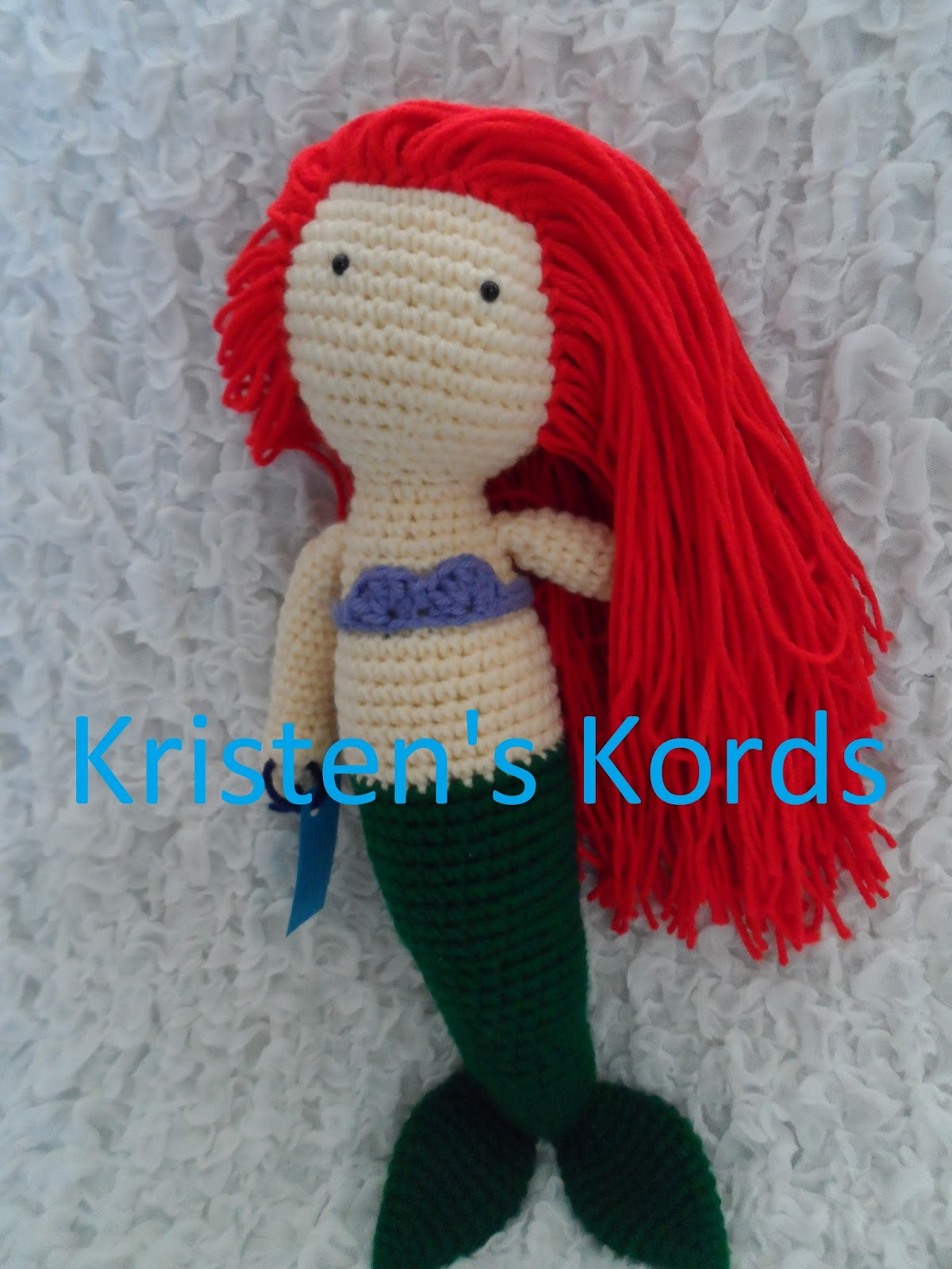Crochet Patterns Mermaid : Kristens Crochet: Crochet Mermaid Pattern