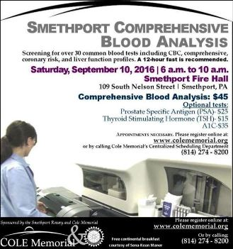 9-10 Smethport Blood Analysis