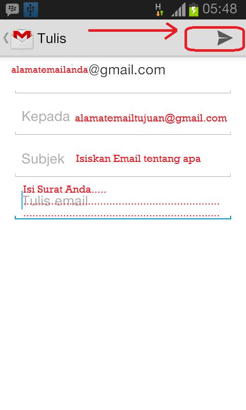 Cara Mengirim Email Melalui HP Android