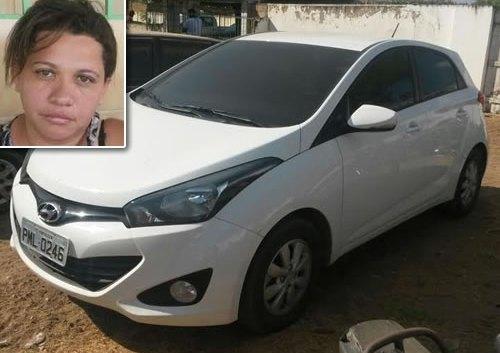 Mulher é presa pela PRF com carro roubado em Icó