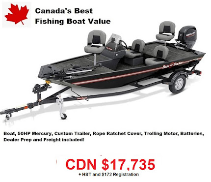 Canada's Best Fisdhing Boat Value