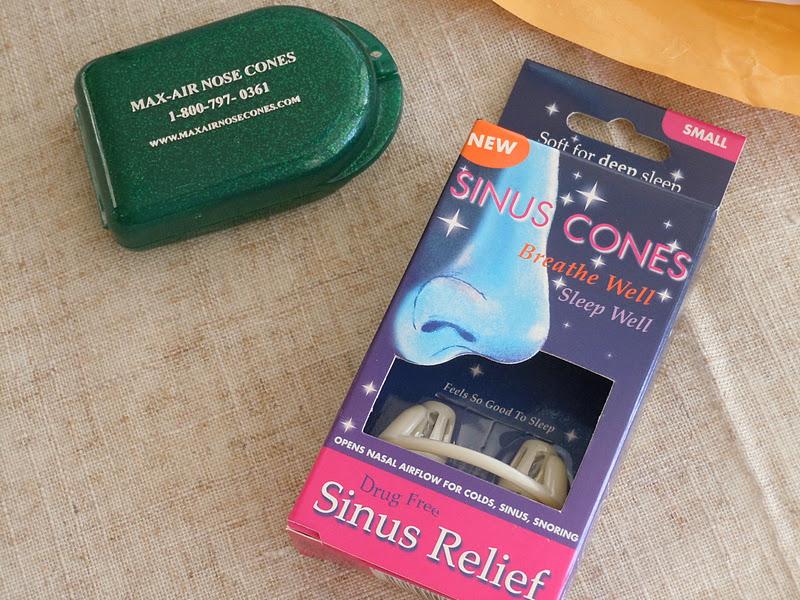 chloe colette: sinus cones review