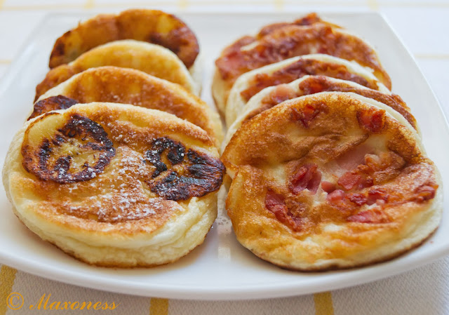 Американские блинчики с беконом или бананами от Джейми Оливера. Американская кухня
