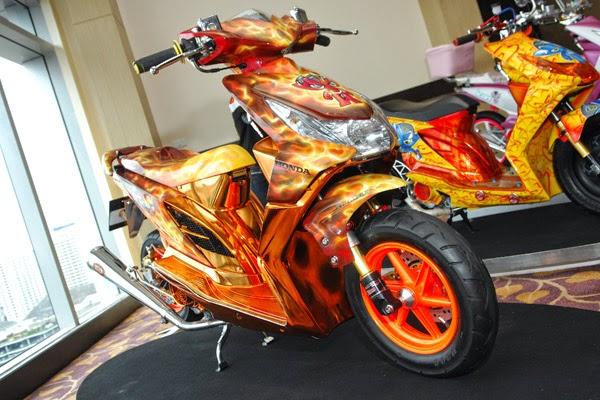 Modifikasi Honda Beat 2014