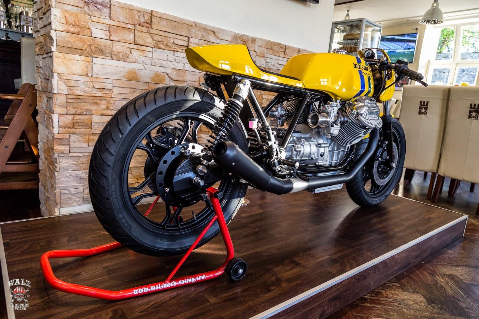 Ayrton Senna Tribute Bike by DP Customs - autoevolution