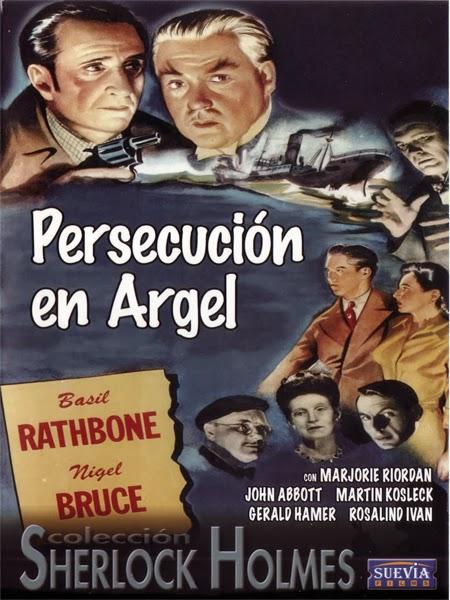 Sherlock Holmes: Persecucion en Argel ( 1945 ) Español + Subtítulos DescargaCineClasico.Net