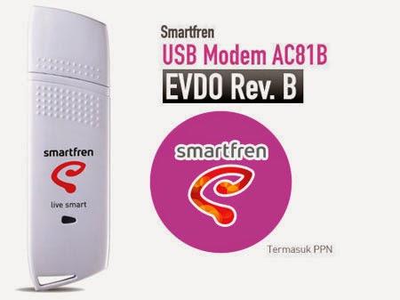 Harga Modem Smartfren AC81B Evdo rev B Terbaru 2015