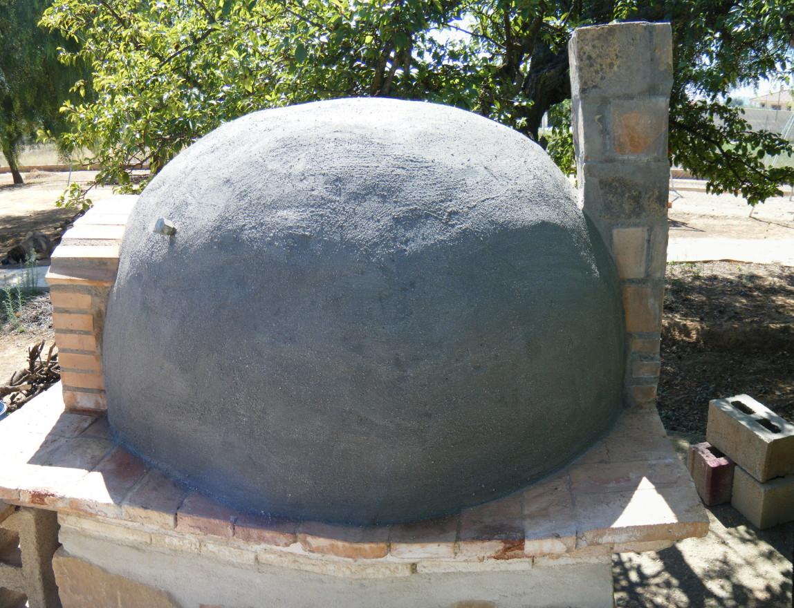 Mundocharly construccion de un horno de le a capitulo - Materiales para hacer un horno de lena ...