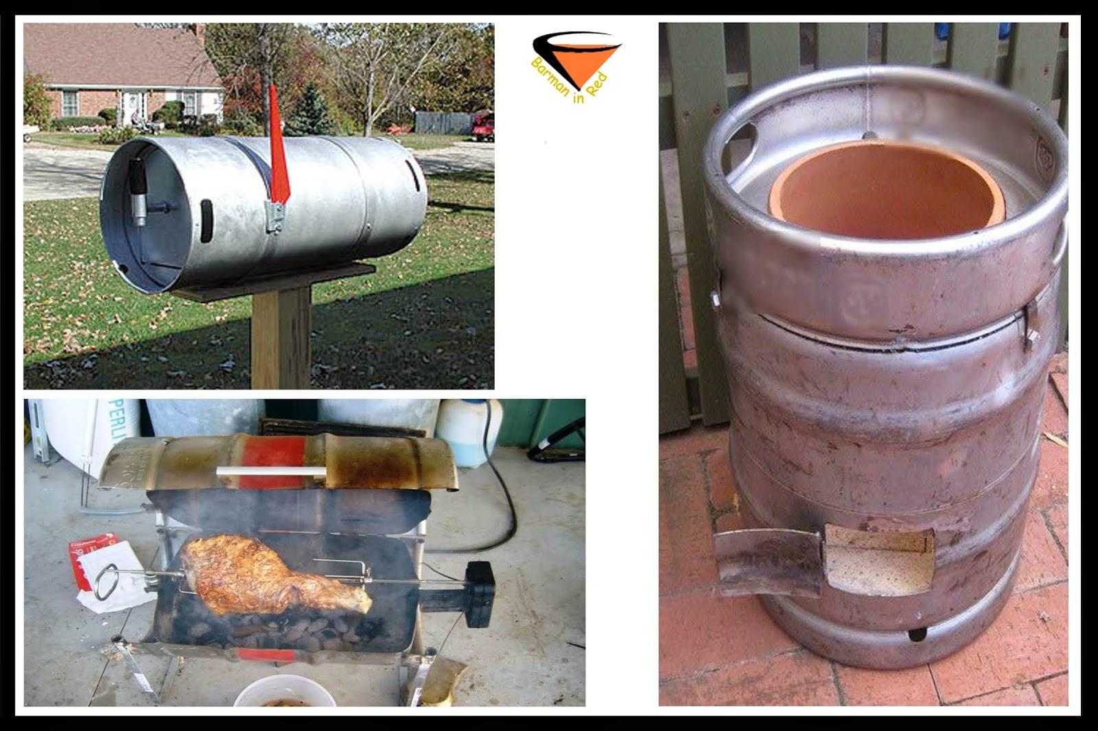 Horno barril cerveza