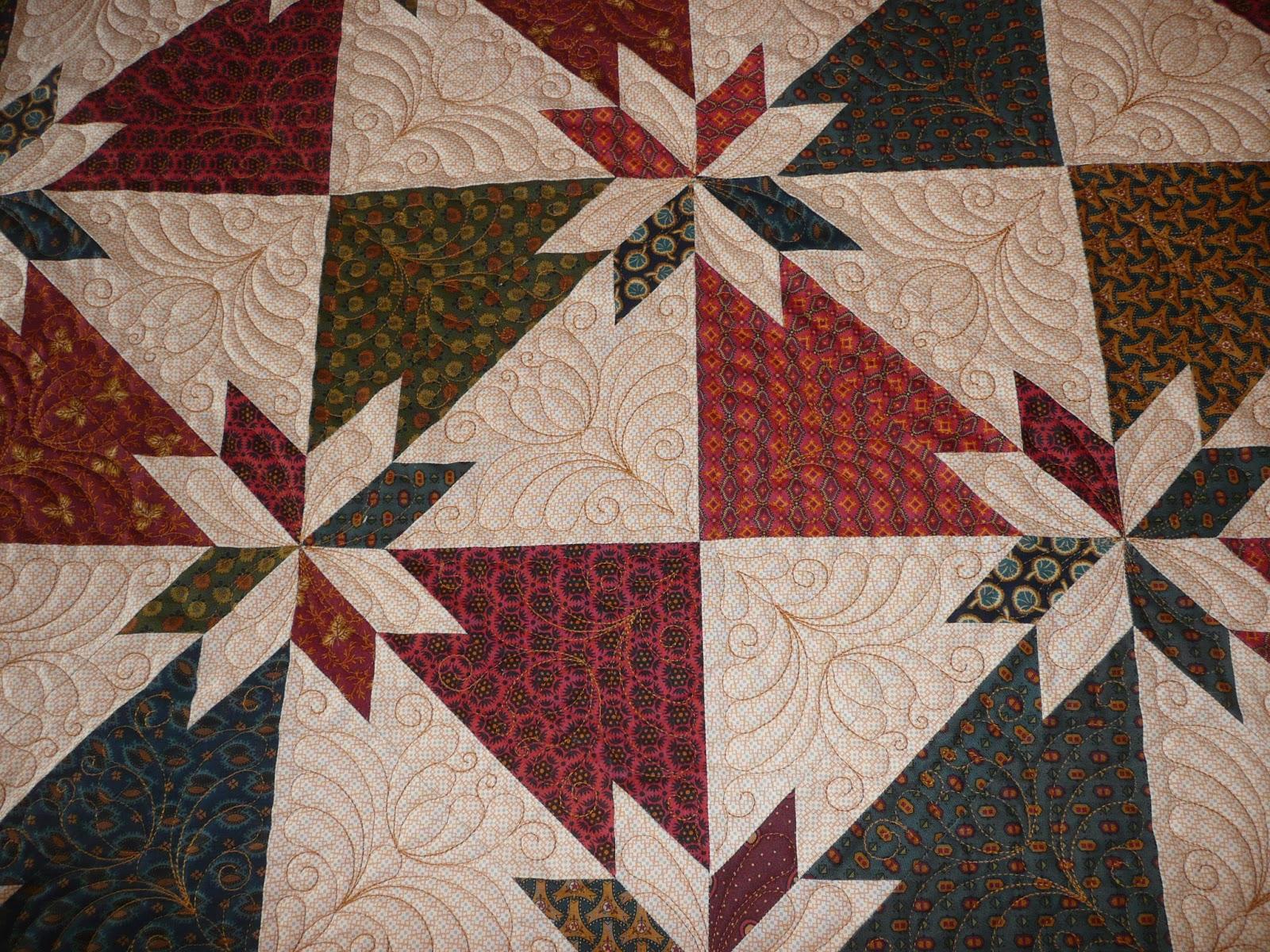 Acorn Ridge Quilting: Cheryl's Hunter Star Quilt : hunter star quilt pattern - Adamdwight.com