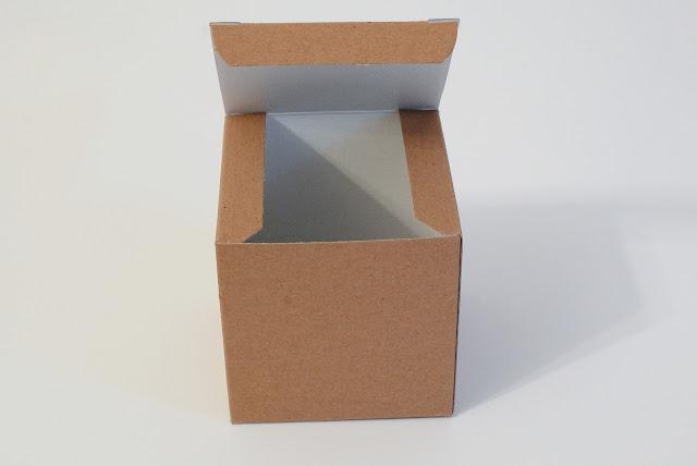 kraft cube boxes