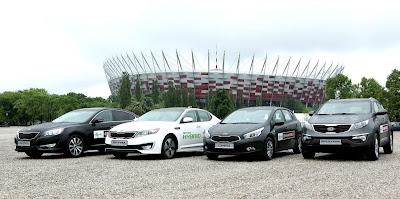 samochody Kia na Euro 2012