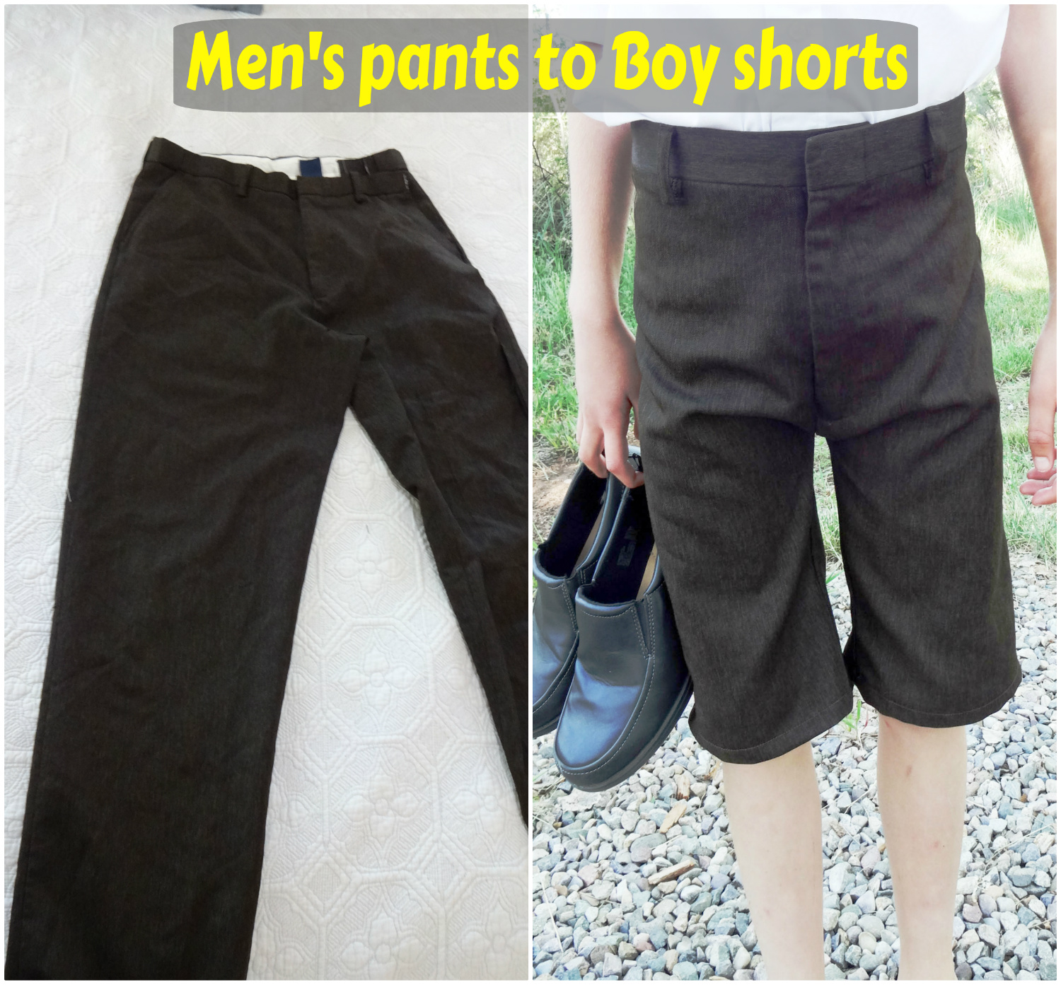Free Sewing Patterns for Boys and Girls!: Men pants to Boy shorts