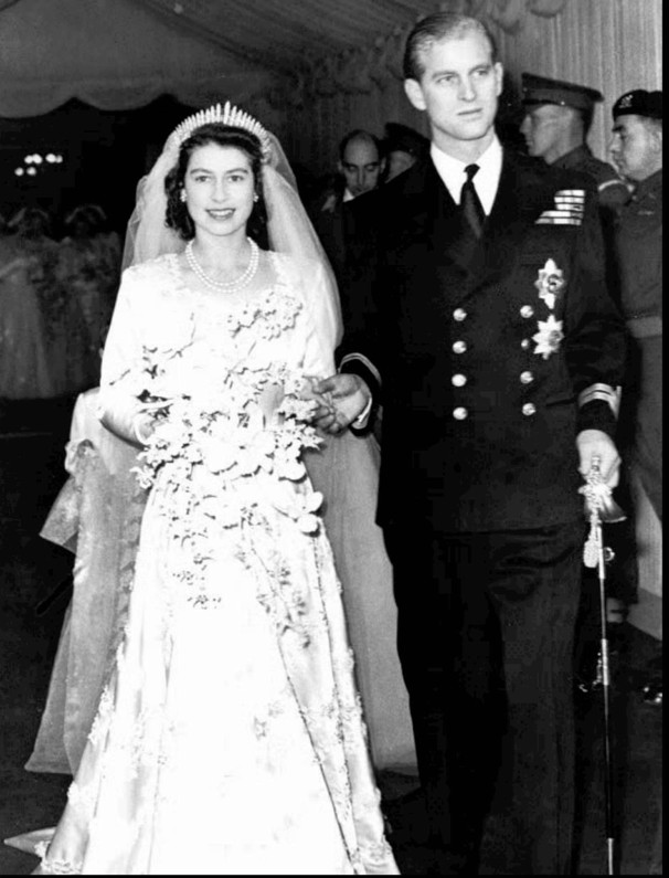 queen elizabeth ii wedding day. Queen Elizabeth II and Prince