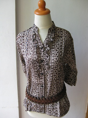 Tips Model Baju Batik Wanita  Desain Terbaru Modern