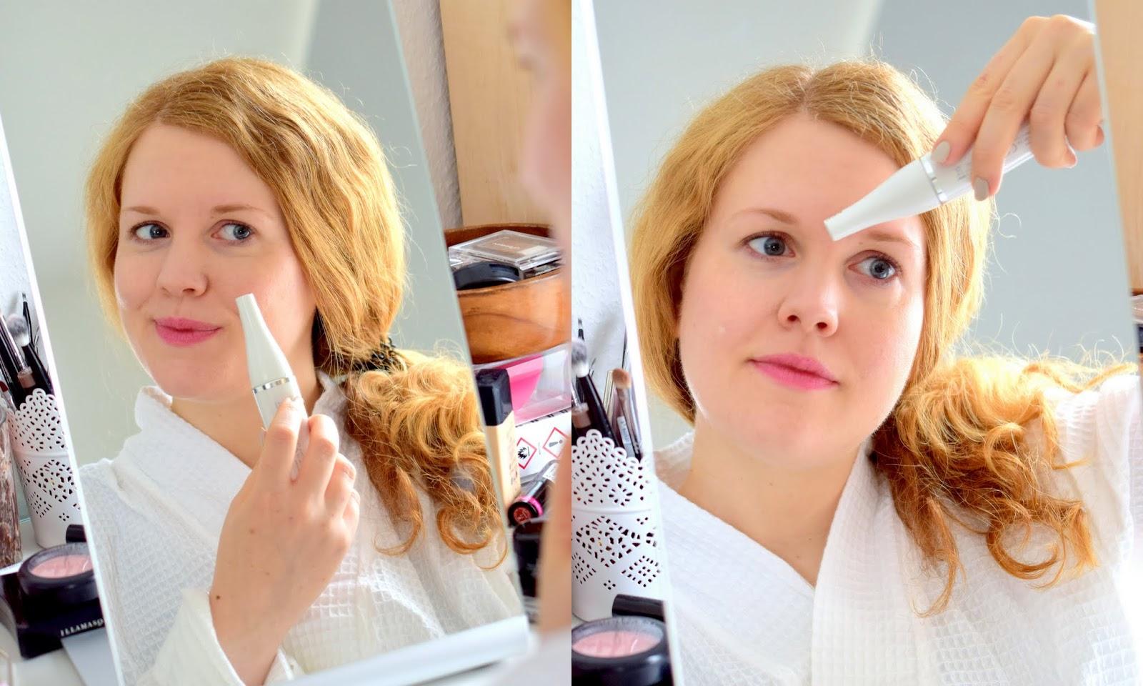 Braun Face Spa Gesichtsepilierer
