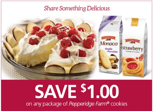 Save.ca Pepperidge Farms $1 off Cookie Coupon