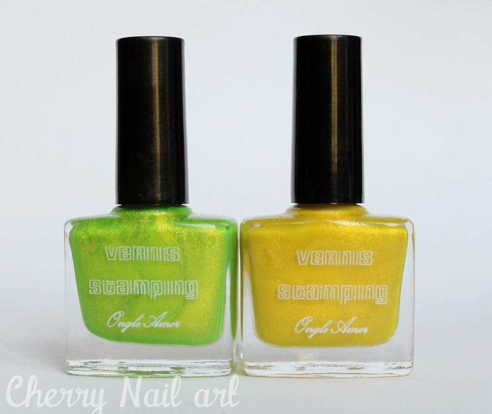 vernis stamping ongle amor