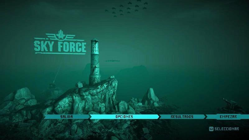 Sky Force Anniversary Multilenguaje (Español)