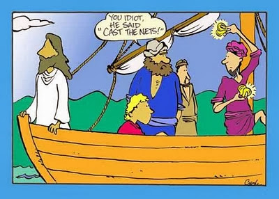 image: Jesus says cast the nets