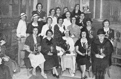 Participantes en el Torneo Femenino de Ajedrez Madrid 1934